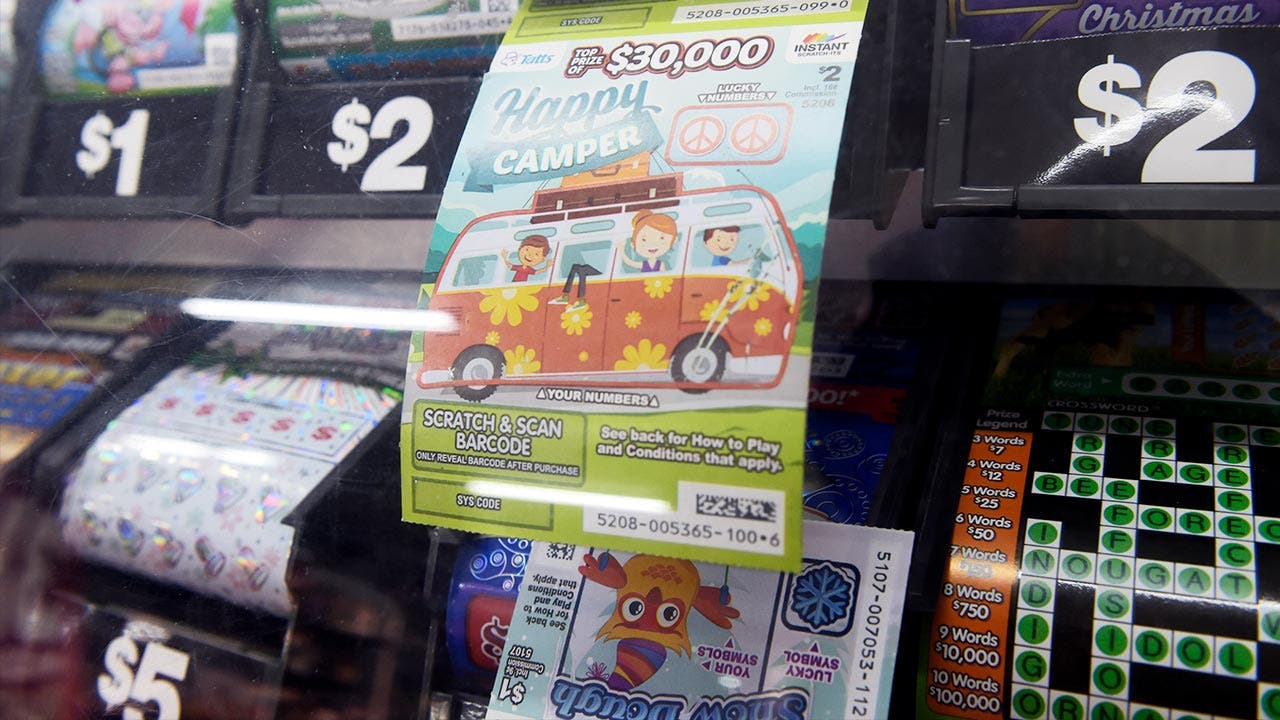 Lottery tickets   Bloomberg/Getty Images