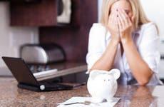 Woman upset about finances © michealjung/Shutterstock.com