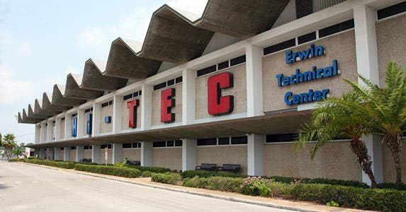 2. Erwin Technical Center | Photo courtesy of Erwin Technical Center