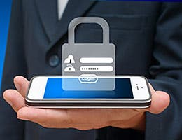 Make your phone password-protected © watcharakun/Shutterstock.com
