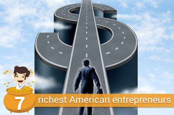 7 richest American entrepreneurs © Lightspring/Shutterstock.com