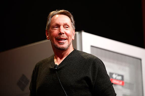 Larry Ellison © STEPHEN LAM/Reuters/Corbis