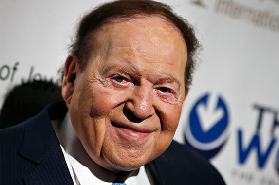 Sheldon Adelson © MIKE SEGAR/Reuters/Corbis