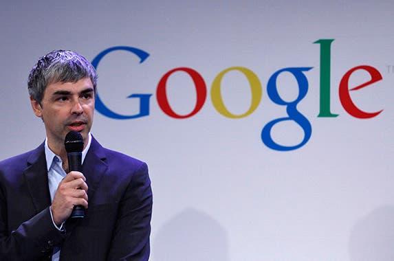 Larry Page © EDUARDO MUNOZ/Reuters/Corbis