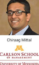 Chiraag Mittal, Universiy of Minnesota