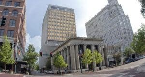 Buildings in downtown Jackson Mississippi © iStock
