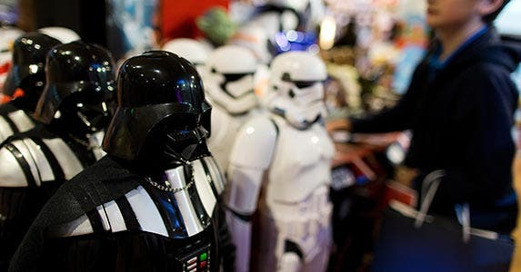 Star Wars deals | KENZO TRIBOUILLARD/AFP/Getty Images