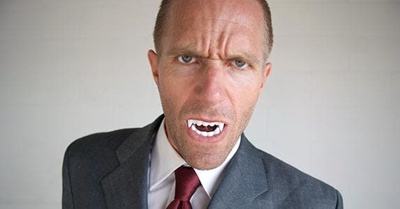 7 ways to fend off financial vampires © iStock