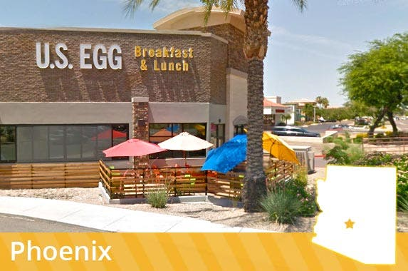 Arizona: Egg salad sandwiches © 2016 Google
