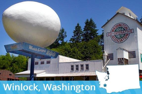 Washington: World's largest egg © Dan Schreiber/Shutterstock.com