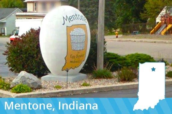 Indiana: Mentone Egg Festival © 2016 Google