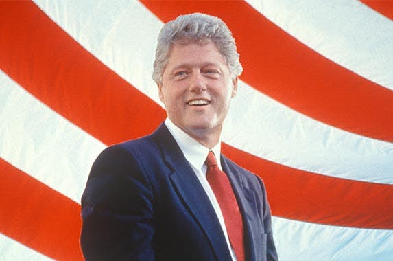 Bill Clinton | Visions of America/Getty Images
