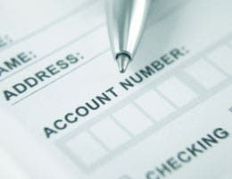 Change your checking account