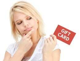 Spend gift cards within a year