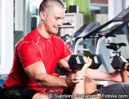 Personal trainer: energy & emotional support