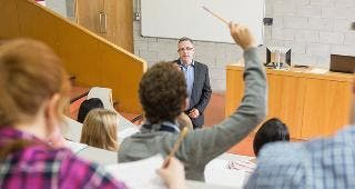 Professor teaching students © wavebreakmedia/Shutterstock.com