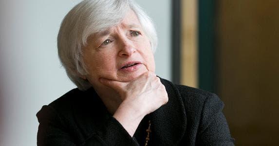Janet Yellen © DOMINICK REUTER/Reuters/Corbis