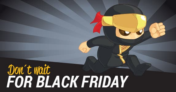 4. Don't wait for Black Friday | BluezAce/Shutterstock.com