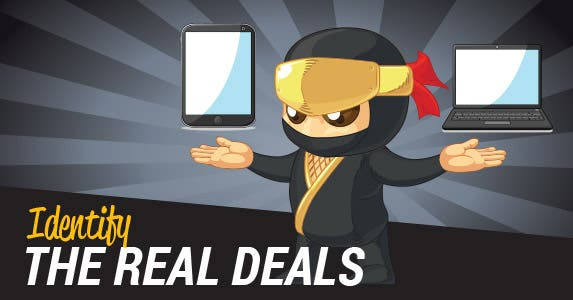 7. Identify the real deals | BluezAce/Shutterstock.com