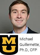 Michael Guillemette, Ph.D., CFP, University of Missouri