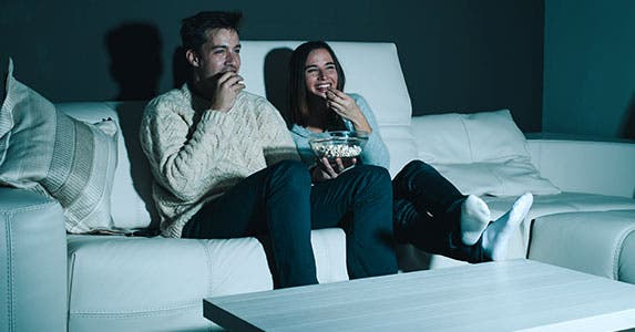 Spend a movie night at home © Peter Bernik/Shutterstock.com