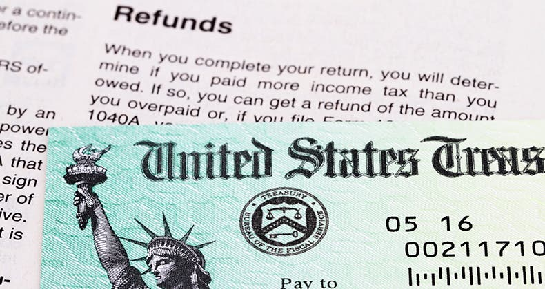 United states tax refund