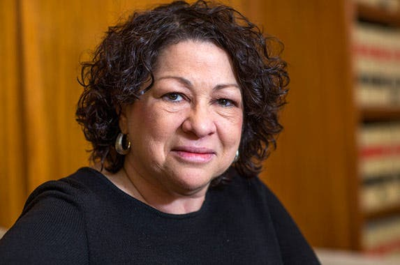 Associate Justice Sonia Sotomayor © Brooks Kraft/Corbis