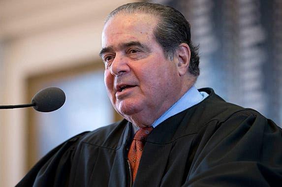 Associate Justice Antonin Scalia © Bob Daemmrich/Corbis