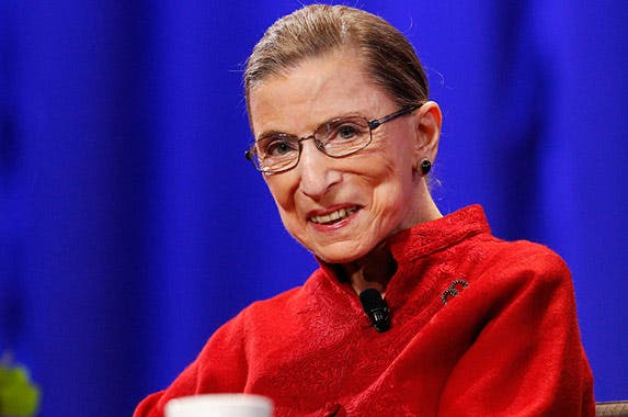 Associate Justice Ruth Bader Ginsburg © MARIO ANZUONI/Reuters/Corbis