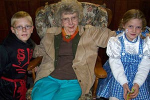 The Lundgren children and great-grandmother Orpha Lundgren | Matt Lundgren