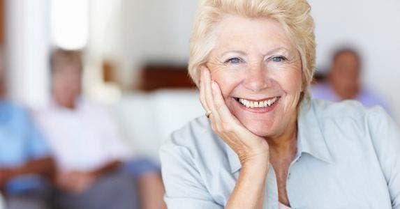 Senior woman smiling © iStock