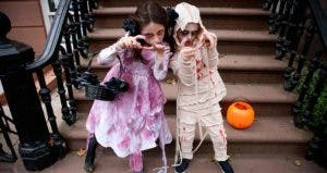 Children dressed as zombies | Neil Beckerman/Getty Images