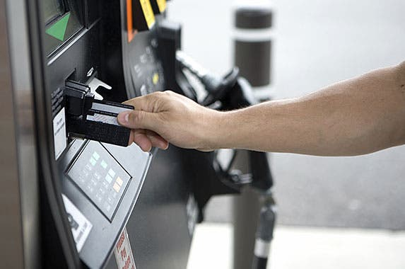 Gas station pay terminals © iStock.com/Dave Newman