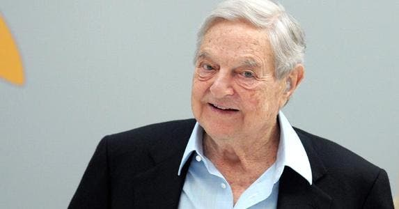 George Soros | ERIC PIERMONT/AFP/Getty Images