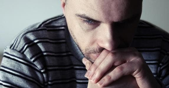 Man deep in thought © Themalni/Shutterstock.com
