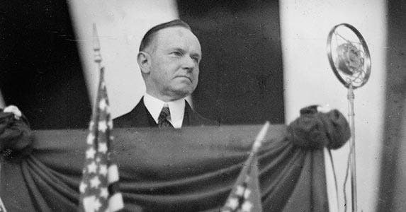 Calvin Coolidge | Chicago History Museum/Archive Photos/Getty Images