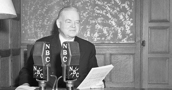 Herbert Hoover | NBC/NBCUniversal/Getty Images