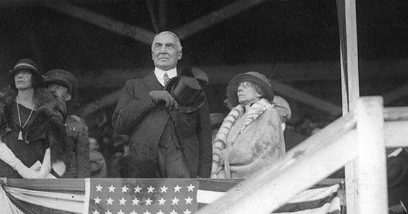 Warren Harding | Library of Congress/Archive Photos/Getty Images