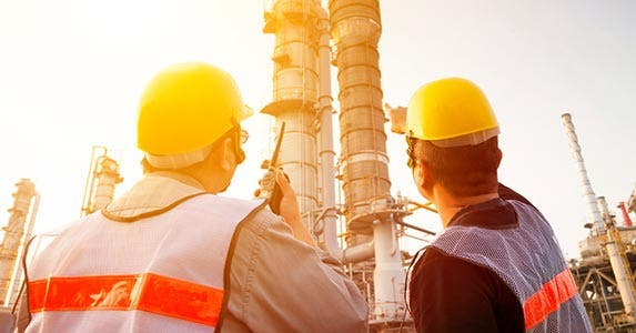 The very top: Petroleum engineering | iStock.com/Tomwang112