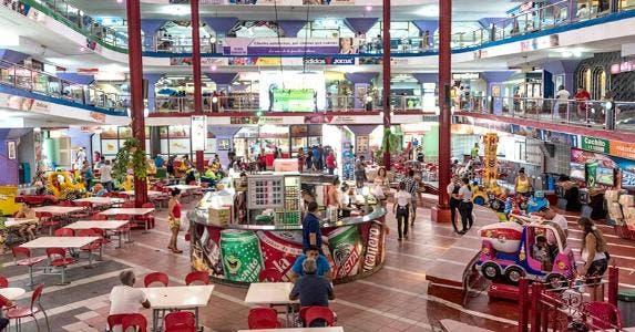 A food court in mall, Cuba | Roberto Machado Noa/LightRocket/Getty Images