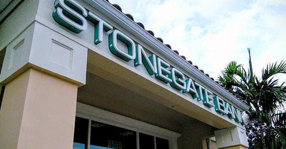 Stonegate Bank   Photo by Holden Lewis