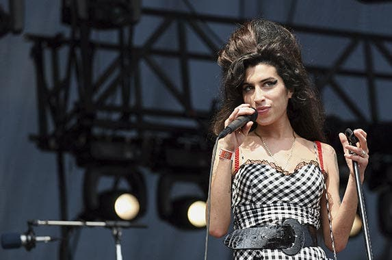 Singer/songwriter Amy Winehouse| Roger Kisby/Getty Images