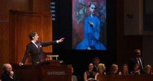 'Garcon a la Pipe' auctioned in Sothebys | STAN HONDA/Getty Images