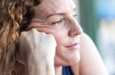 Close up shot of pensive mature woman   Juanmonino/E+/Getty Images