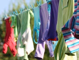 Hang your laundry out to dry