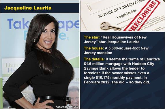 Jacqueline Laurita © Associated Press, foreclosure document: © zimmytws/Shutterstock.com