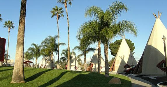 Teepee sleepy-time | Photo courtesy of Wigwam Motel