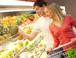 Stick to seasonal fruits and veggies