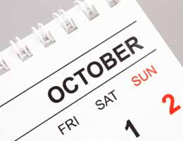 October scares up a new fiscal year