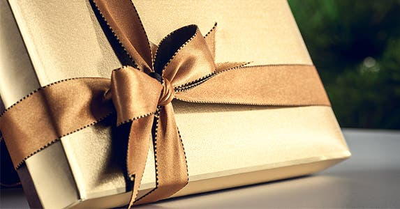 Give the best gift under the tree © Volodymyr Goinyk/Shutterstock.com